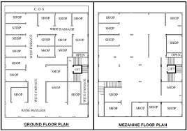 ground floor plan 2 ground floor plan mezzanine floor plan