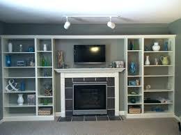 bookcases around fireplace binhminh decoration