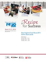new england food show 2015 by diversified communications issuu