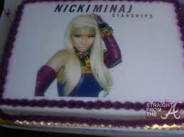 nicki minaj cake