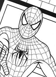 spiderman colouring sheet check activity sheets