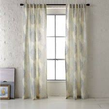 96 Long Curtains Curtains Drapes U0026 Valances In Brand West Elm Length 91 U0027 U0027 100