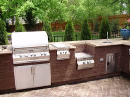 build outdoor kitchen around grill tags extraordinary diy