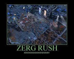 Zerg Rush Meme - google zerg rush attacks your search results with this fun