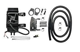 oil cooler fan kit vertical mount fan assisted oil cooler kit ss custom cycle