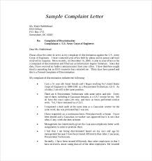Formal Complaint Letter Format Sle formal document template city espora co