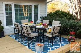Patio Table Decor Indoor Outdoor Room Outside Living Patio Within Ideas Decor 18