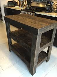 How To Build A Kitchen Island With Seating by Kitchen Island Made From Pallet Wood Pallet Tables Pinterest