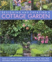cottage garden flowers decorating clear