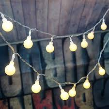 New Year Decorations Amazon by Amazon Com 4m 40 Led Ball Styled String Lights Battery Operated