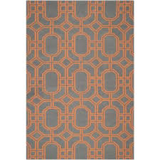 Brown And Orange Area Rug Orange And Blue Area Rug Roselawnlutheran