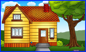 how to draw a house step by step buildings landmarks u0026 places