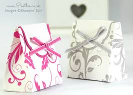 Wedding Favors Box by Wedding Favour Box Tutorial Using Stin Up Supplies