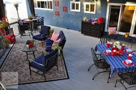 themed patio our americana themed outdoor patio decorating updates