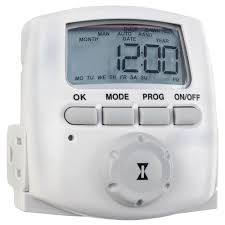 random light timer home depot intermatic 15 amp heavy duty plug in digital timer dt620 the home