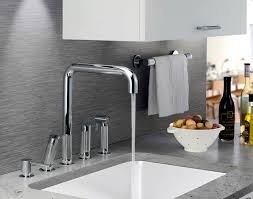 watermark kitchen faucets sculptural faucets add style without sacrificing function las