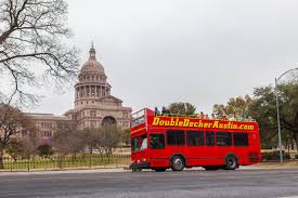 double decker party bus austin u0027s guided hop on hop off double decker sightseeing tours