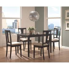 rectangle 5 piece dining table set