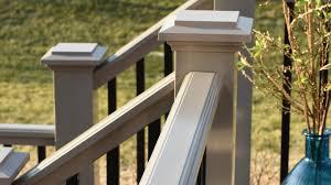 Banister Options Premier Deck Railing Pvc Railing Deck Railing System Azek