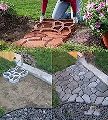 Cleaning Concrete Patio Mold Amazon Com Driveway Paving Brick Patio Concrete Slabs Pathmate