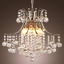 Modern Ceiling Lights by Modern Crystal Chandelier With 6 Lights Roselawnlutheran