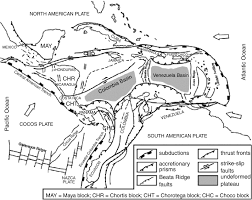 geological evolution of the nw corner of the caribbean plate