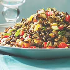 wild rice thanksgiving side dish barley u0026 wild rice pilaf with pomegranate seeds recipe eatingwell