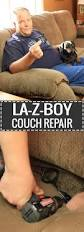 How To Disassemble Recliner Sofa by La Z Boy Recliner Couch Repair U2013 Handydadtv