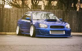 subaru wrx custom blue subaru impreza wrx sti blue rear car wallpaper 1680x1050 17923