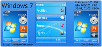 live themes windows 7 windows 7 theme for nokia asha 303 300 x3 02 c2 02 and touch