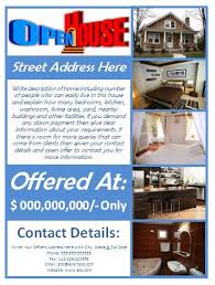 real estate flyers microsoft word templates