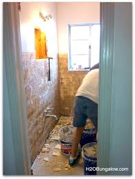 glass tiles bathroom ideas creative small bathroom remodel with slate and glass tile hometalk