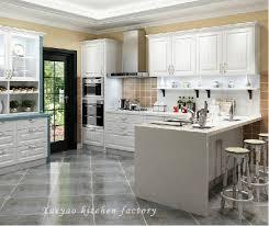 wood kitchen cabinets with white island china white island style pvc wood kitchen cabinet p022
