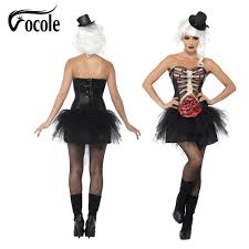 Halloween Costumes Skeleton Woman Online Get Cheap Skeleton Costume Aliexpress Com Alibaba Group