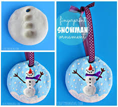 how to make fingerprint snowman ornaments pictures photos and