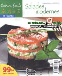 cuisine de a az cuisine facile de a à z salades modernes 1 livres cuisine