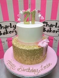 2 tier 21st birthday cake with gold sequins bottom tier p u2026 flickr