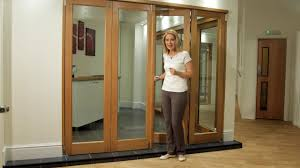 internal bifold doors room divider range vufold inspire youtube