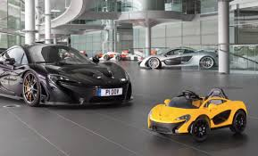kid car mclaren now makes an electric p1 roadster for kids fatherly