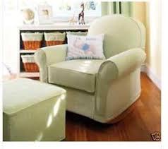 Pottery Barn Dream Rocker Pottery Barn Dream Rocker Glider Sofa Chair Ottoman With Denim On