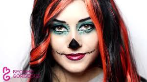 Halloween Monster High Makeup by Skelita Calaveras Makeup Tutorial Monster High Doll Youtube