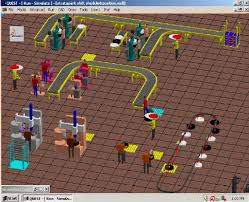 floor layout software production shop floor layout model using quest simulation software