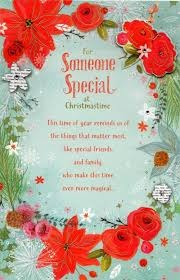 greeting cards someone special traditional christmas greeting card cards kates