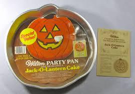 halloween cake pan vintage wilton jack o lantern halloween cake pan 1981 sold on ruby