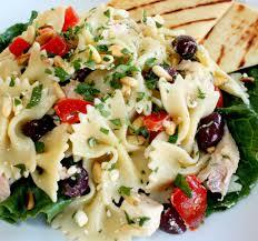 mediterranean chicken pasta salad wives with knives