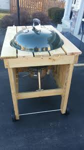 how to build a weber grill table kettle fire pit new how to build a weber grill table woodworking
