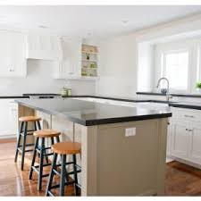 White Cabinets For Kitchen Interior How To Make Countertop Kitchen With Honed Granite