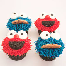 elmo cupcakes kids cupcakes delish cupcakes auckland