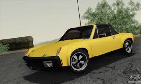 porsche 914 yellow porsche 914 for gta san andreas