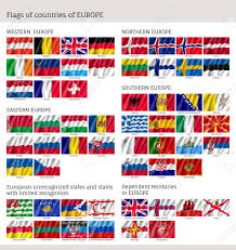 Flags Of Countries In Europe Flags Of Countries Of Western Northern Easter Southern Europe
